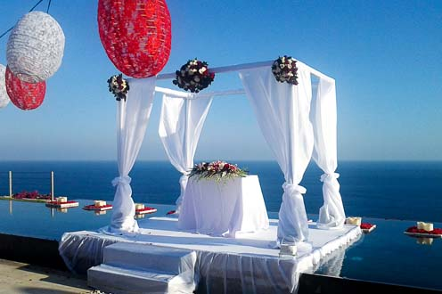 The Sanctus Bali weddings with Dream Weddings In Bali