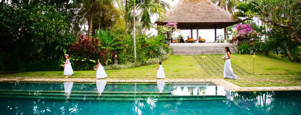 Villa Bali Gita Bali weddings with Dream Weddings In Bali